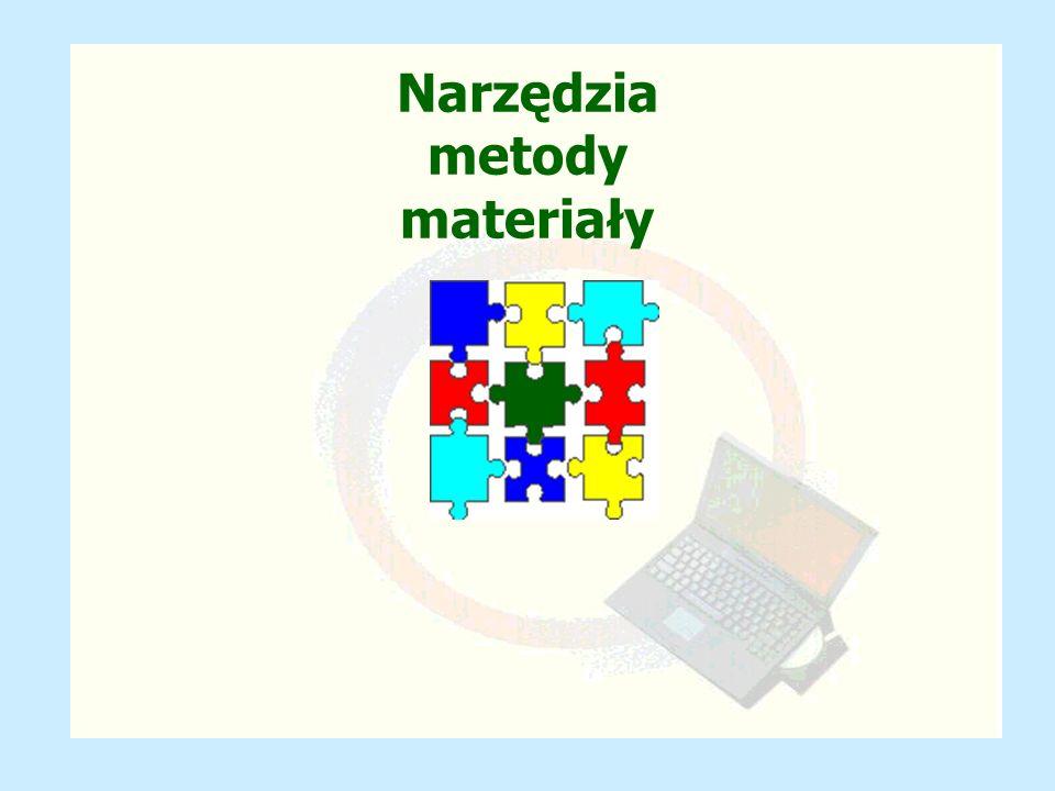 Narzędzia metody materiały