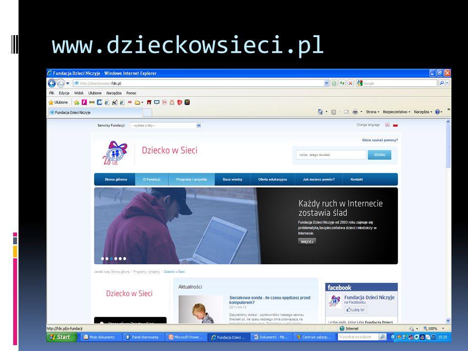 www.dzieckowsieci.pl