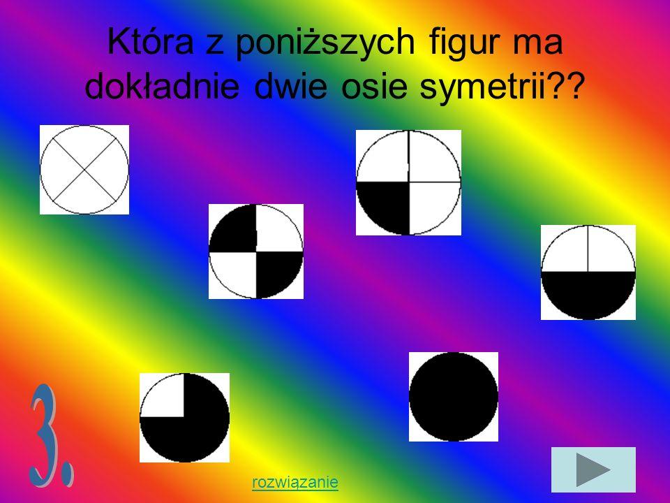 Wymień własności figur symetrycznych względem punktu.