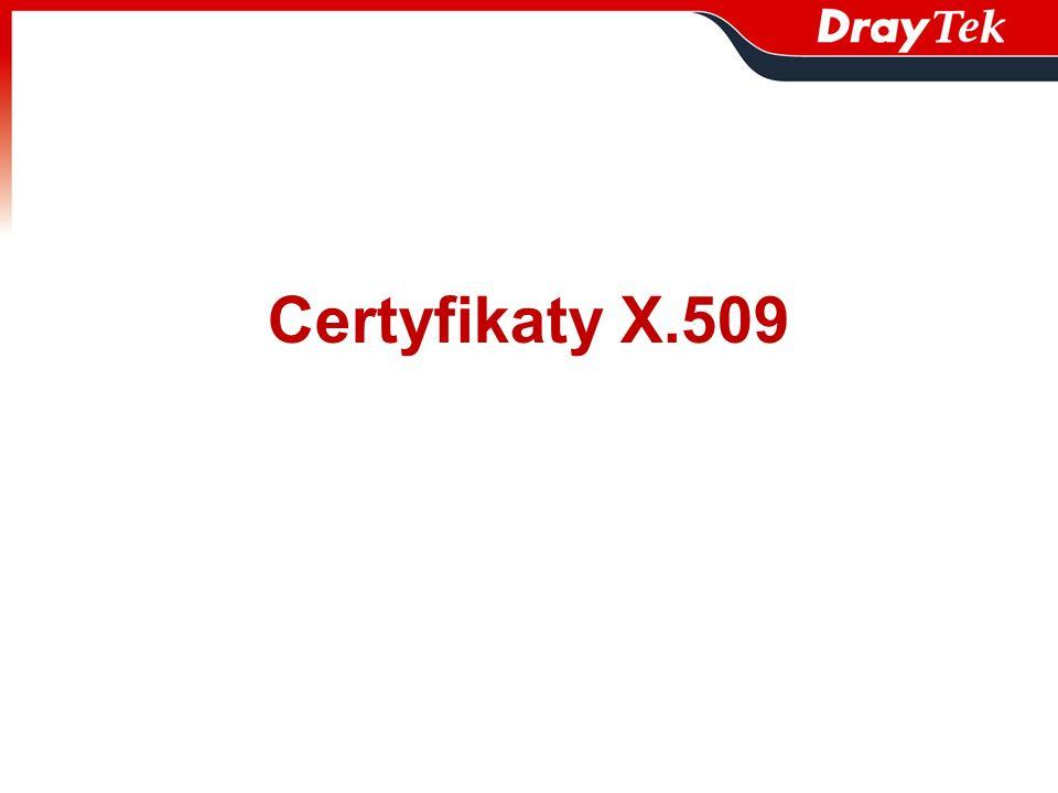 Certyfikaty X.509