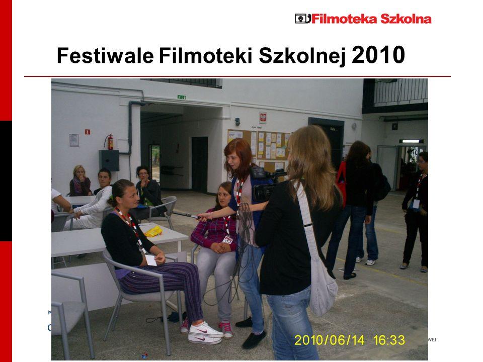 Festiwale Filmoteki Szkolnej 2010