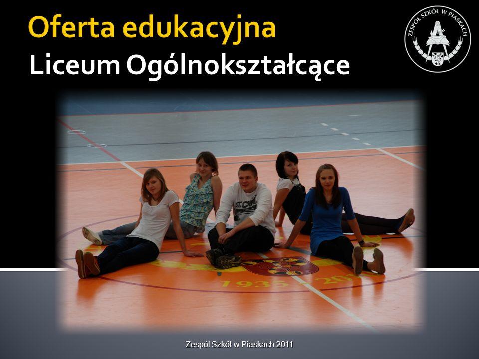 Baza dydaktyczna Hala sportowa Zespół Szkół w Piaskach 2011
