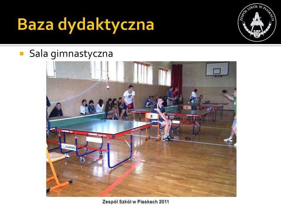 Sala gimnastyczna Zespół Szkół w Piaskach 2011