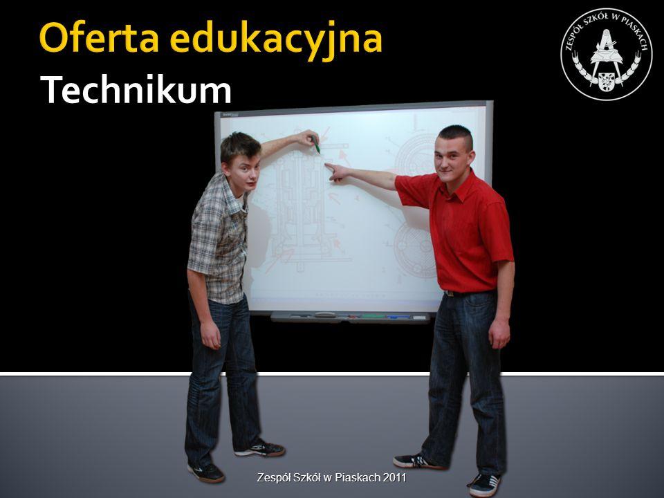 Własne warsztaty szkolne z różnymi działami szkoleniowymi Zespół Szkół w Piaskach 2011