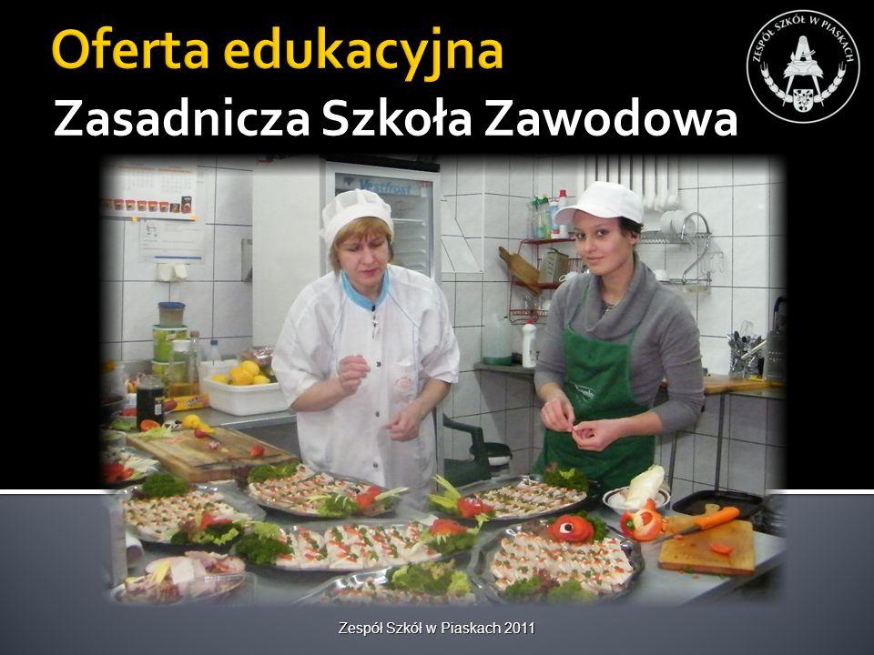 Zespół Szkół w Piaskach 2010