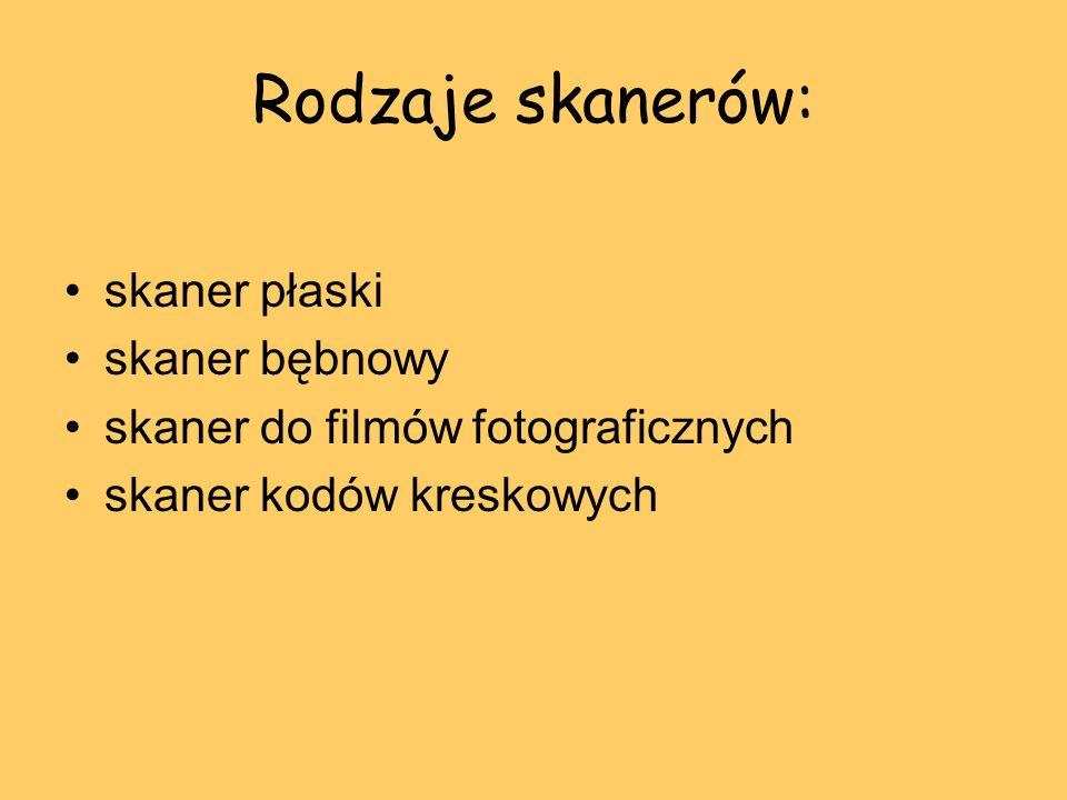 Skaner płaski Skaner płaski (ang.