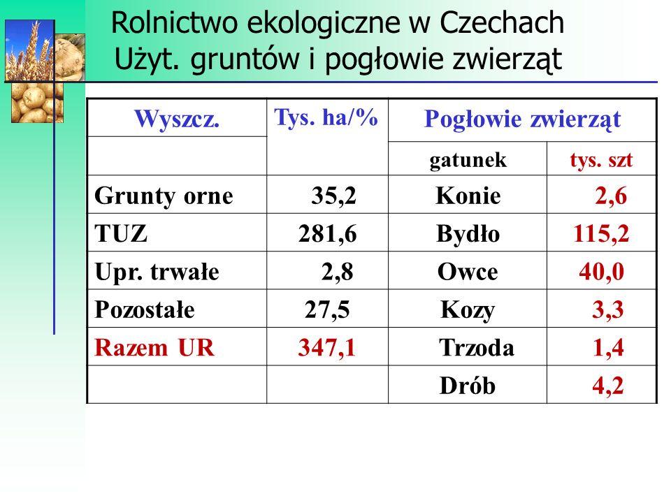 Podsumowanie 1.W latach 2004-2008 powierzchnia UR wykorzystywanych przez gospodarstwa ekologiczne wzrosła 4-krotnie.