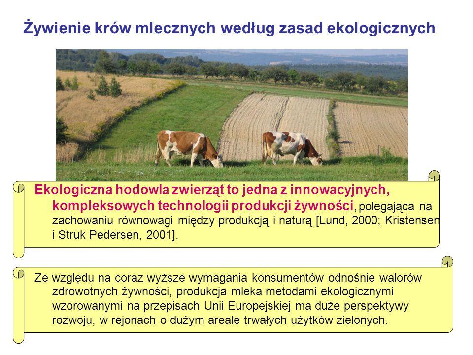 Ekologiczna hodowla zwierząt to jedna z innowacyjnych, kompleksowych technologii produkcji żywności, polegająca na zachowaniu równowagi między produkcją i naturą [Lund, 2000; Kristensen i Struk Pedersen, 2001].