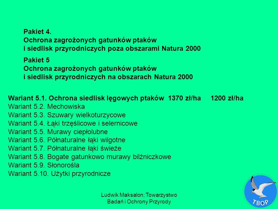 Ludwik Maksalon; Towarzystwo Badań i Ochrony Przyrody Kszyk