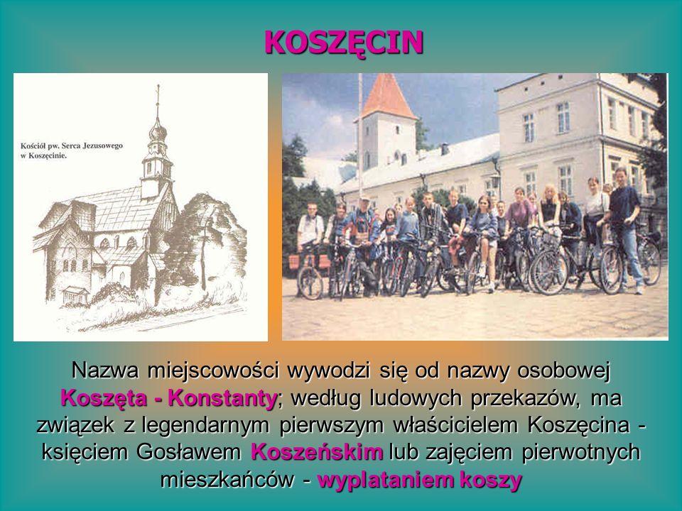 Nazwa miejscowości wywodzi się od nazwy osobowej Koszęta - Konstanty; według ludowych przekazów, ma związek z legendarnym pierwszym właścicielem Koszę