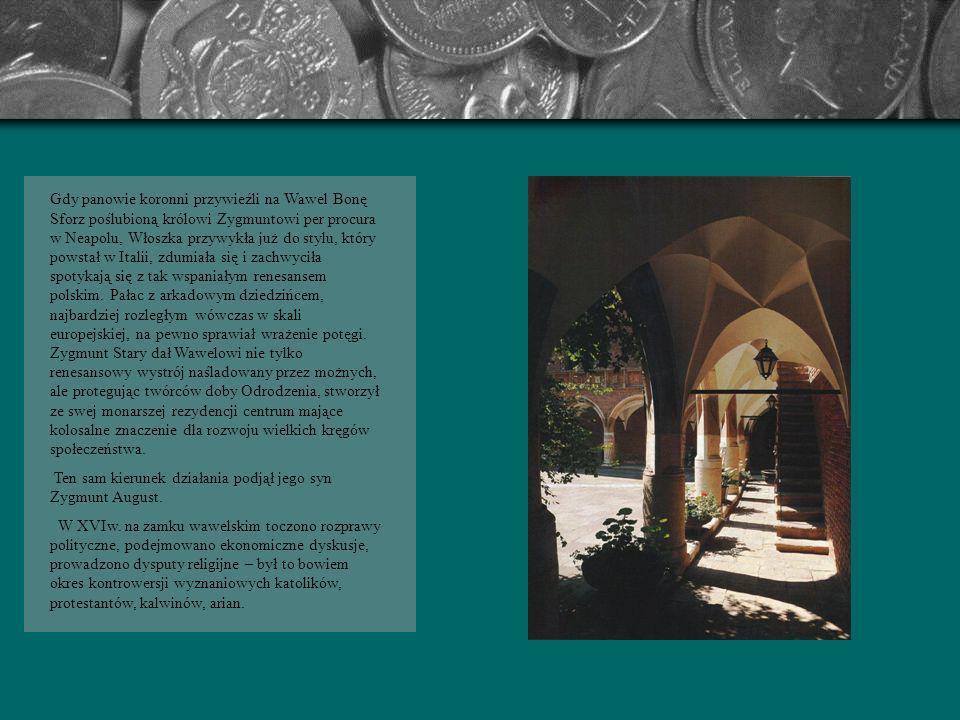 Złoty Wiek - to czas największego rozkwitu Krakowa. Rządzili wtedy ostatni Jagiellonowie: Zygmunt I Stary (zm.1548r.) i Zygmunt August (zm. 1572r.). T
