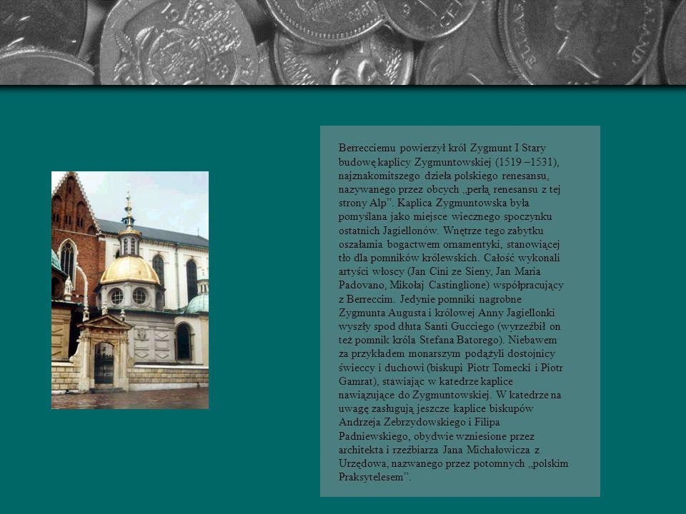 Gdy panowie koronni przywieźli na Wawel Bonę Sforz poślubioną królowi Zygmuntowi per procura w Neapolu, Włoszka przywykła już do stylu, który powstał