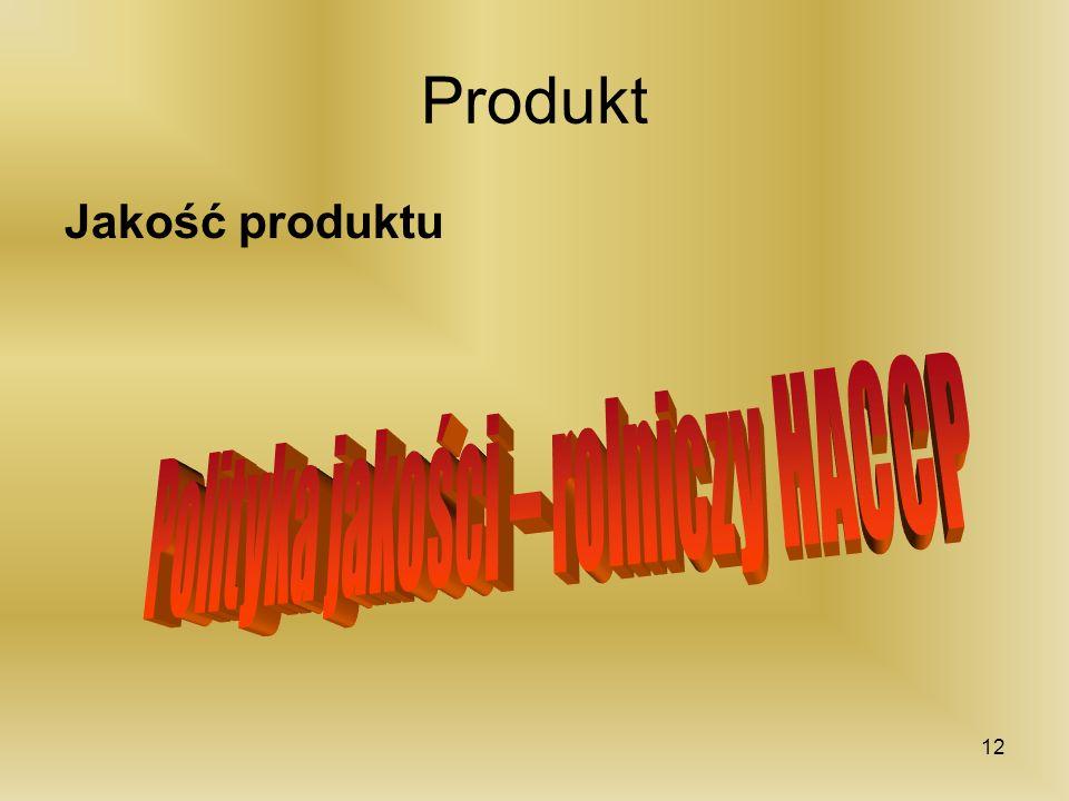Produkt Jakość produktu 12