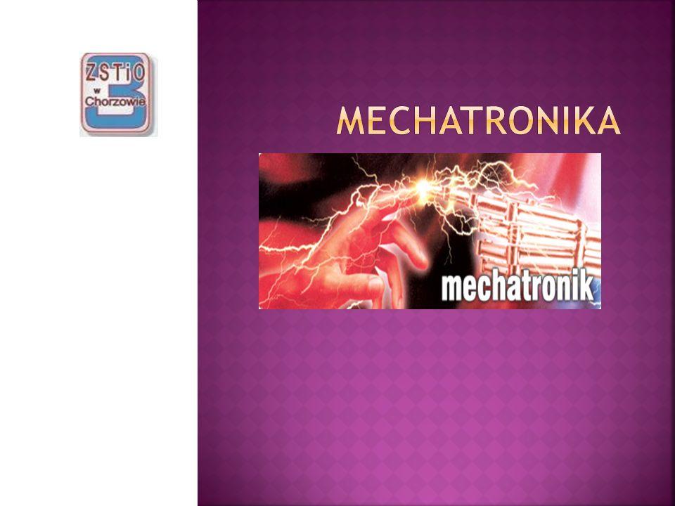 Słowo mechatronika powstało z połączenia części słów angielskich MECHAnism i elecTRONICS.