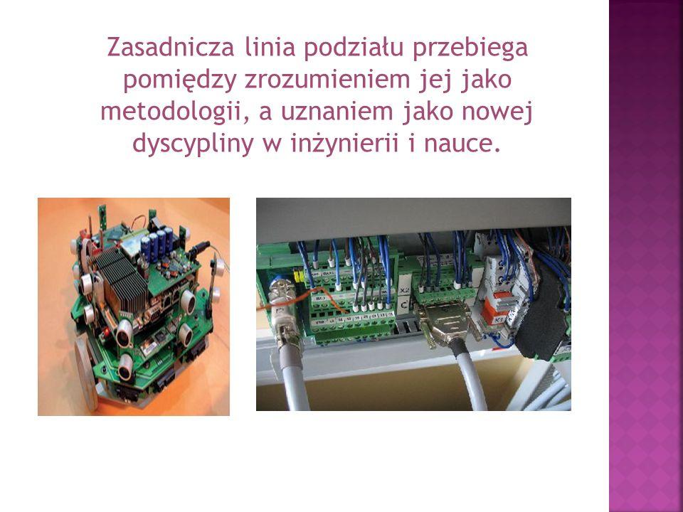Według wybranych przykładów mechatronika jest: 1.obszarem studiów łączącym zasady inżynierii mechanicznej, elektrycznej i komputerowej, 1.metodyką optymalizującą projektowanie urządzeń elektromechanicznych, 2.filozofią w zakresie projektowania, która wykorzystuje synergiczną integrację mechaniki, elektroniki i technik komputerowych dla otrzymywania zaawansowanych technologicznie urządzeń i systemów,