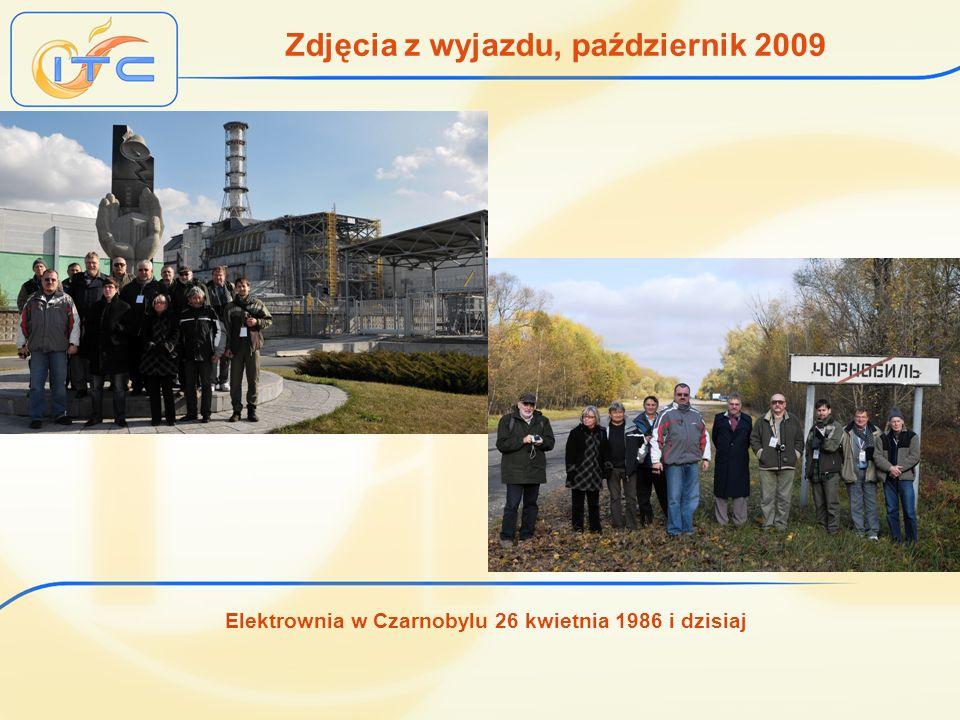 Elektrownia w Czarnobylu 26 kwietnia 1986 i dzisiaj Zdjęcia z wyjazdu, październik 2009