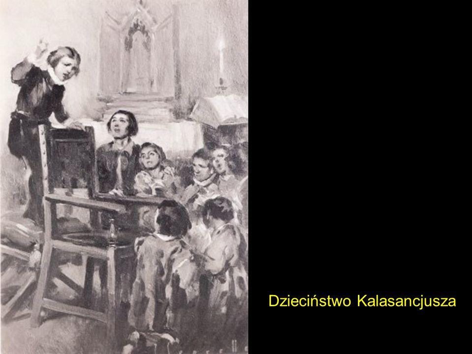 Dzieciństwo Kalasancjusza