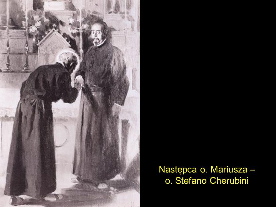 Następca o. Mariusza – o. Stefano Cherubini