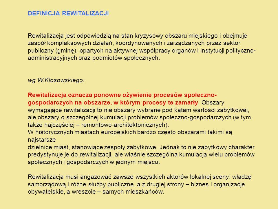 Główni beneficjenci: Jednostki samorządu terytorialnego, ich związki i stowarzyszenia.