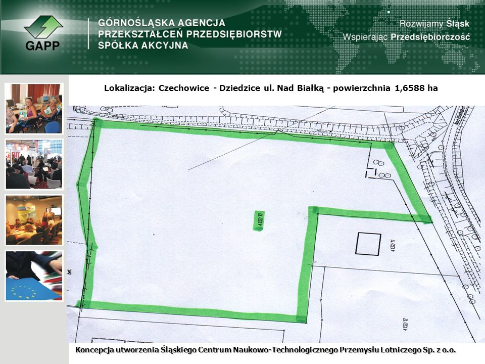 Koncepcja utworzenia Śląskiego Centrum Naukowo-Technologicznego Przemysłu Lotniczego Sp. z o.o.