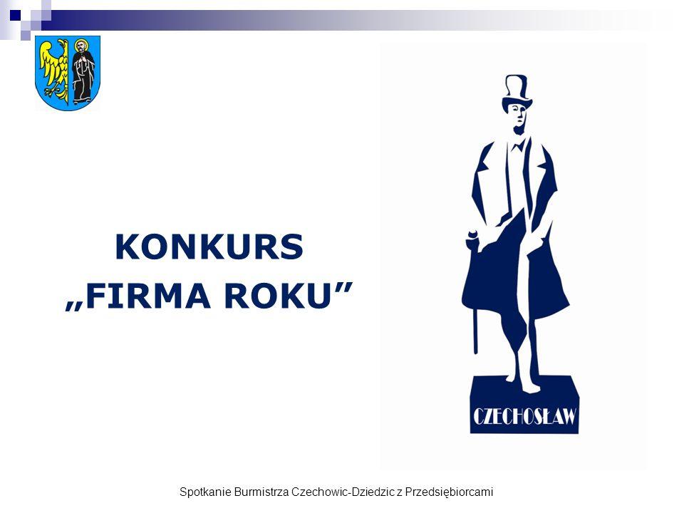 Spotkanie Burmistrza Czechowic-Dziedzic z Przedsiębiorcami KONKURS FIRMA ROKU