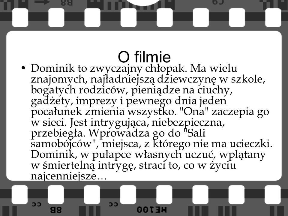 O filmie Dominik to zwyczajny chłopak. Ma wielu znajomych, najładniejszą dziewczynę w szkole, bogatych rodziców, pieniądze na ciuchy, gadżety, imprezy