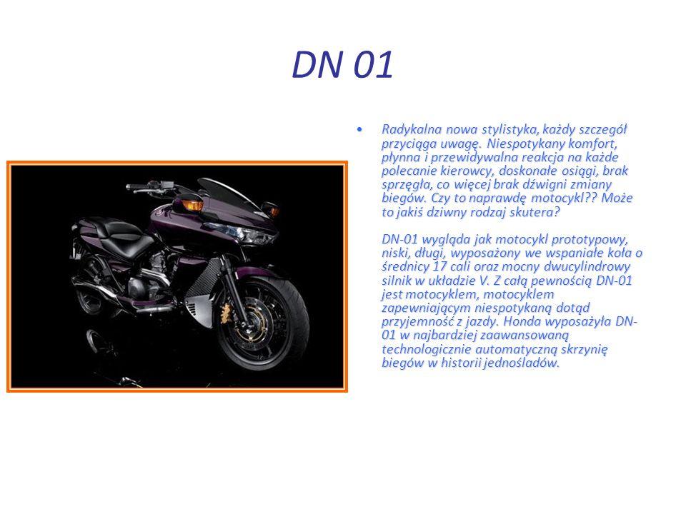 DN 01 Radykalna nowa stylistyka, każdy szczegół przyciąga uwagę.