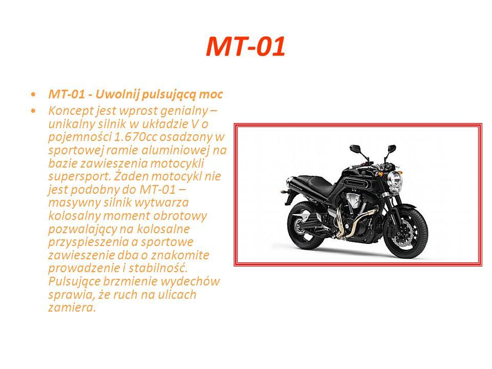 MT-03 MT-03 - Ikona miejskiego stylu MT-03 to całkowicie oryginalny i bezkompromisowy zamysł technologiczny Yamaha.