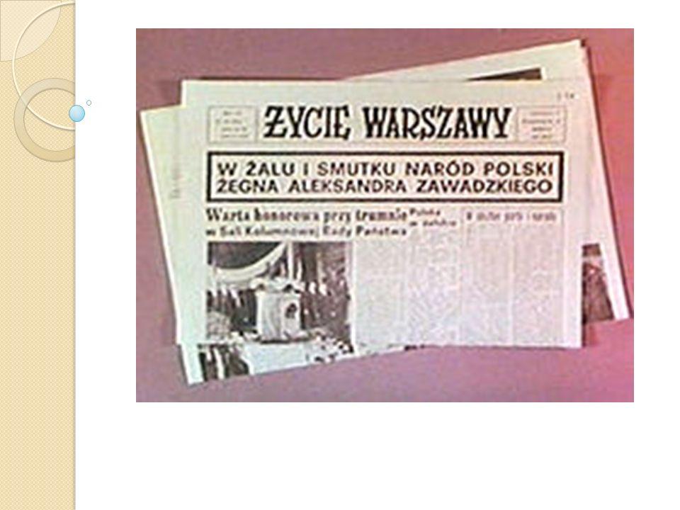 Express Wieczorny Express Wieczorny - dziennik popołudniowy o charakterze sensacyjnym założony przez Rafała Pragę.