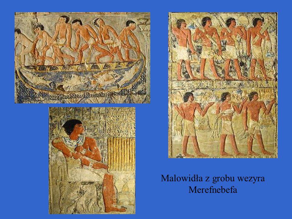 Malowidła z grobu wezyra Merefnebefa