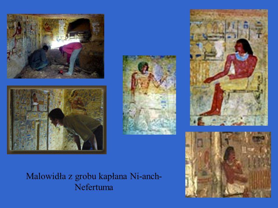 Malowidła z grobu kapłana Ni-anch- Nefertuma