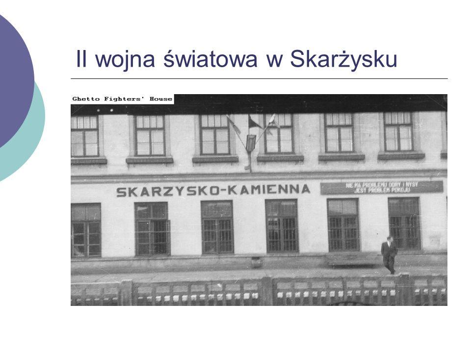 II wojna światowa w Skarżysku
