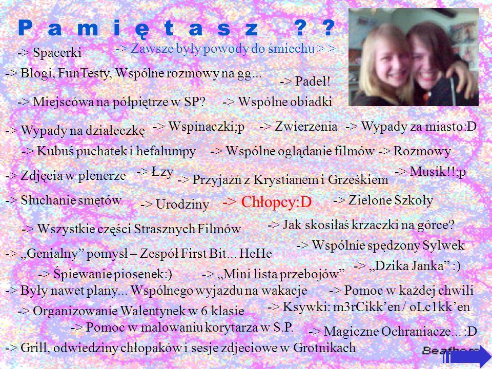 P a m i ę t a s z .-> Miejscówa na półpiętrze w SP.