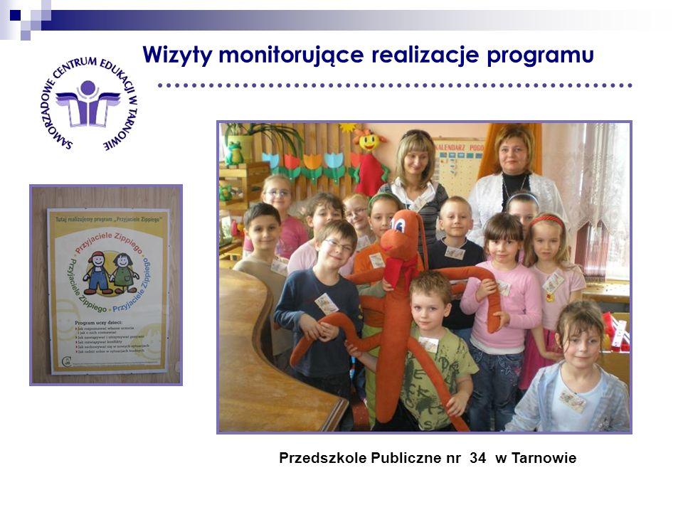 Wizyty monitorujące realizacje programu Przedszkole Publiczne nr 34 w Tarnowie
