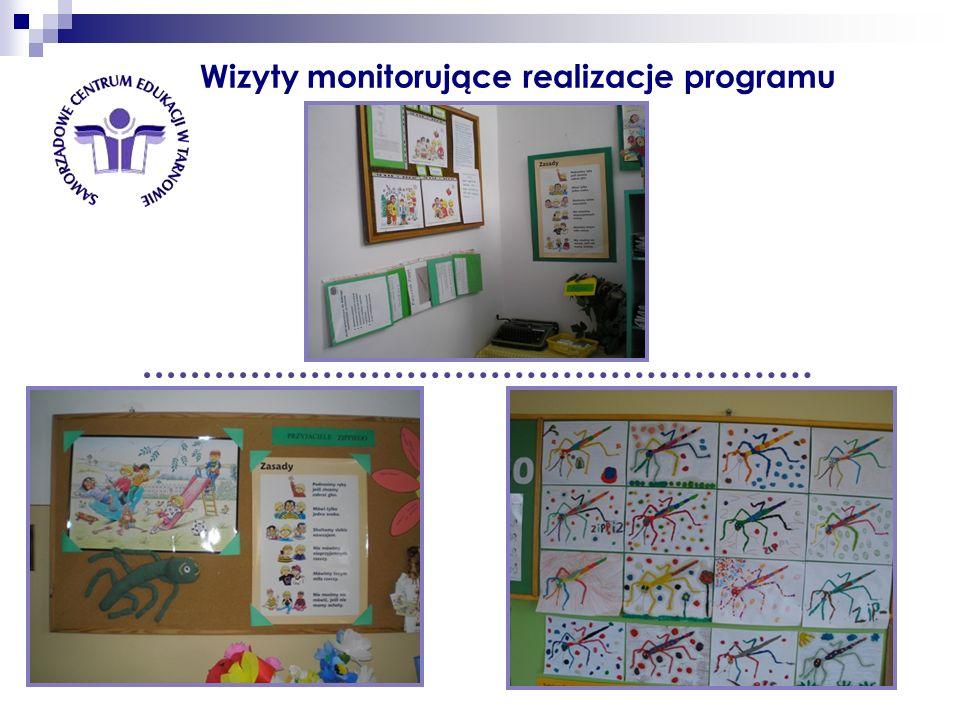 Wizyty monitorujące realizacje programu