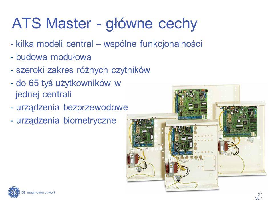4 / GE / Oprogramowanie Zarządzające