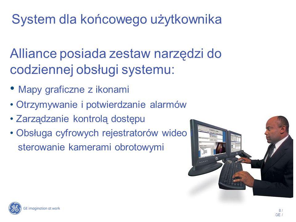 9 / GE / Alliance – architektura systemu Integracja CCTV Sieć TCP/IP Klient ATS 8300 RS – 485, RS – 232, Modem advisor MASTER ATS 8300 + Serwer MS SQL lub MSDE Advisor MASTER Interfejs IP ATS 1806 Odbiornik SMA TCP/IP Raportowanie Integracja SSP Integrtacja SSP FP12xx FP2xxx FP12xx FP2xxx
