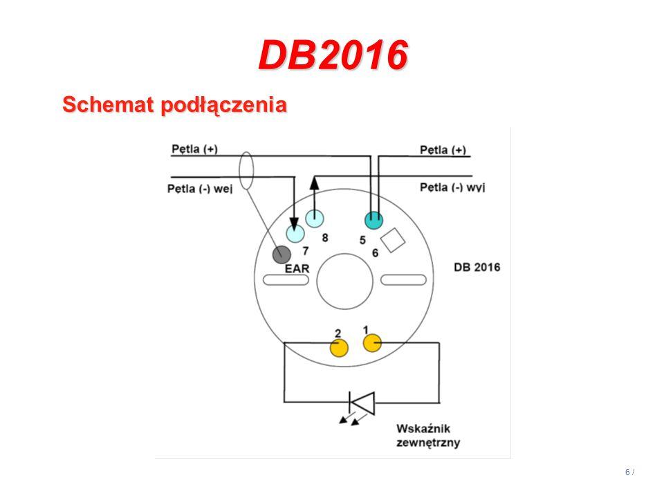 6 / DB2016 Schemat podłączenia