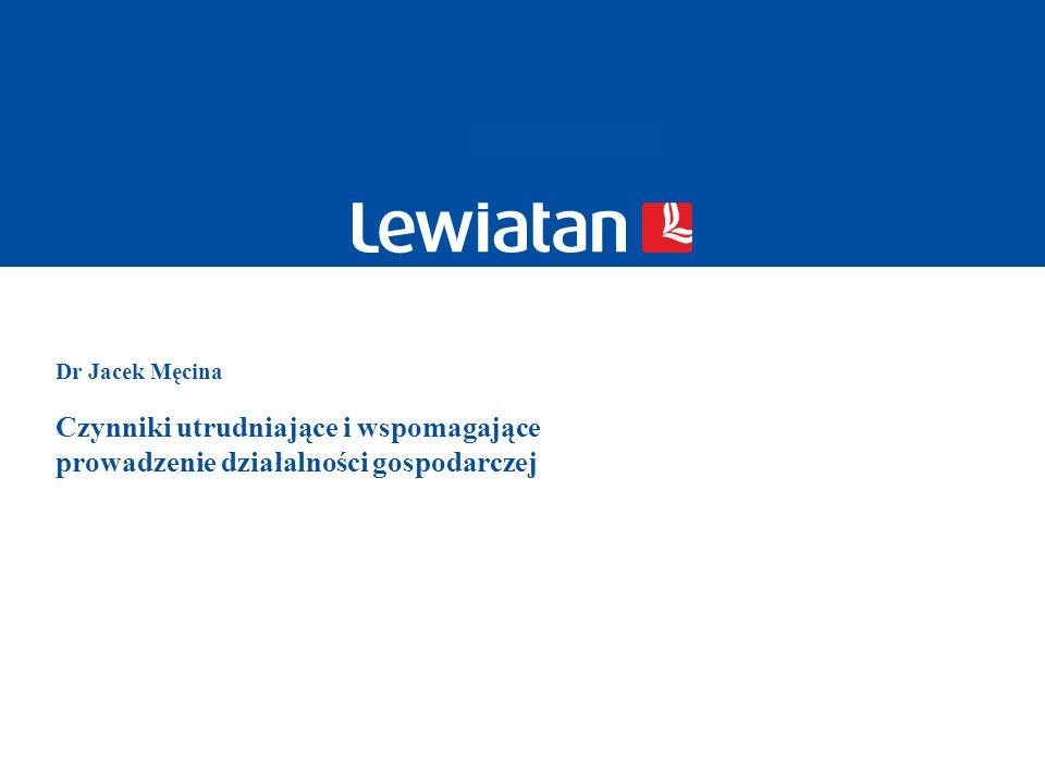 12 © 2009 PKPP Lewiatan Wpływ dużych wymagań wynikających z Kodeksu pracy na uruchomienie i prowadzenie działalności gospodarczej według liczby zatrudnionych w przedsiębiorstwie