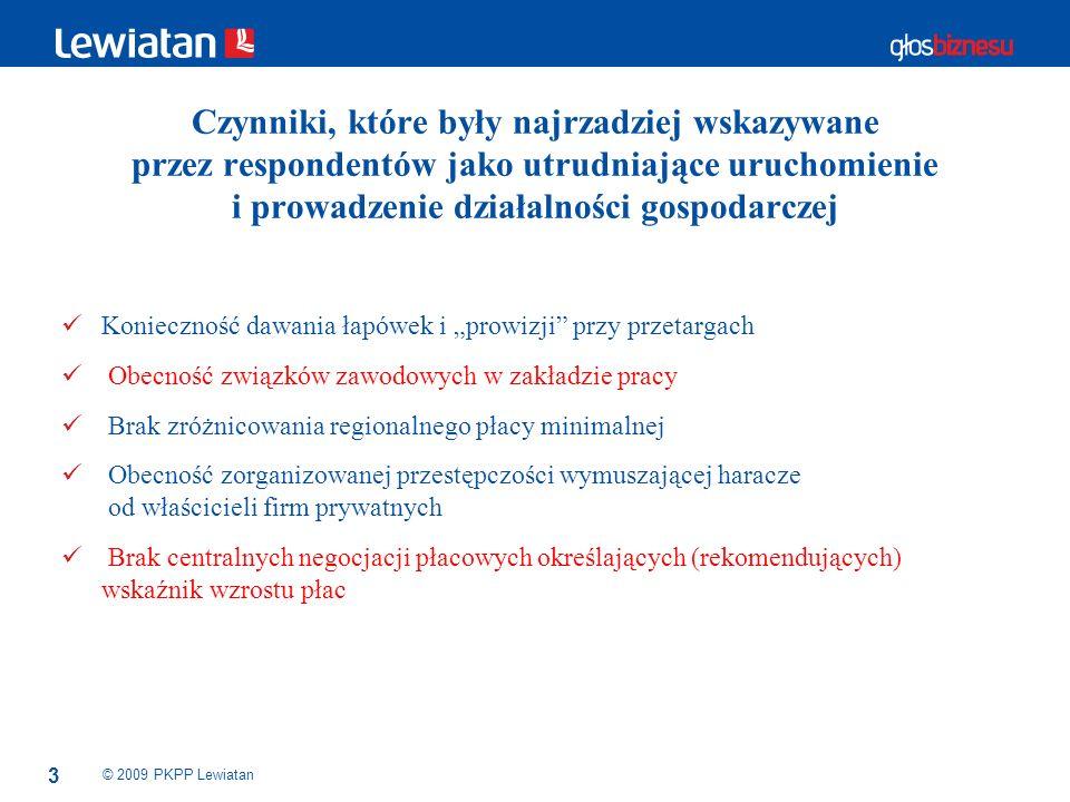 14 © 2009 PKPP Lewiatan Czy polskie prawo dostatecznie chroni: