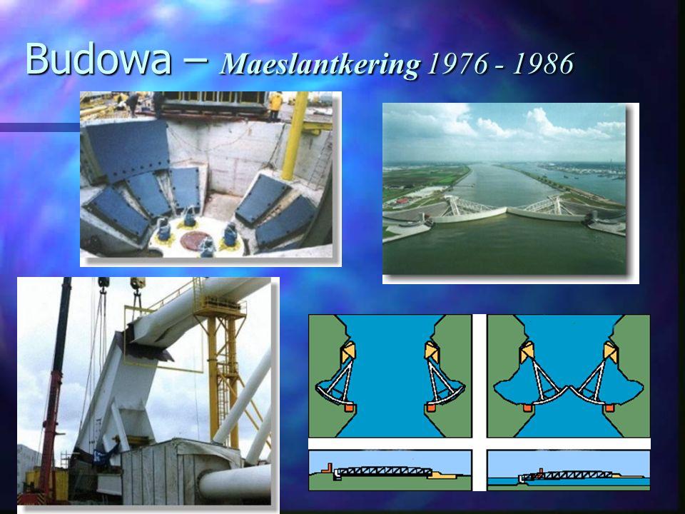 Budowa – Maeslantkering 1976 - 1986