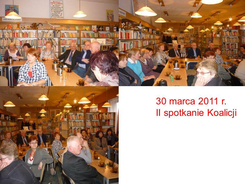 30 marca 2011 r. II spotkanie Koalicji