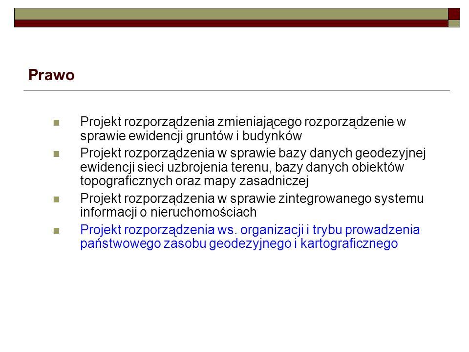 Przykładowe schematy architektury systemów dla PZGiK w PODGiK EMUiA PRG PRNG BDOT10k ZSIN ….
