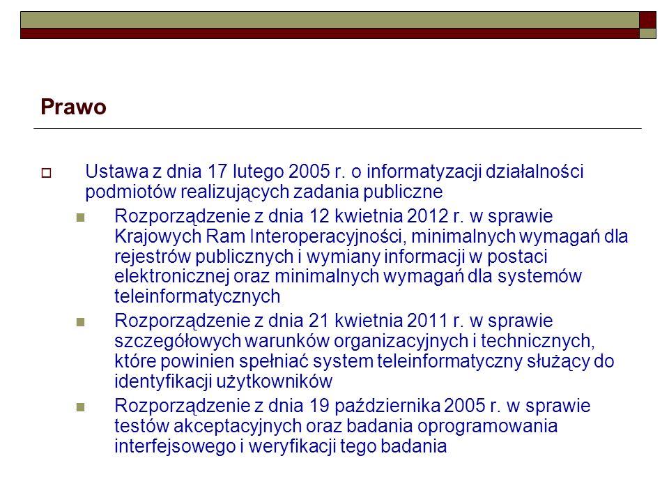 Prawo Rozporządzenie z dnia 27 września 2005 r.