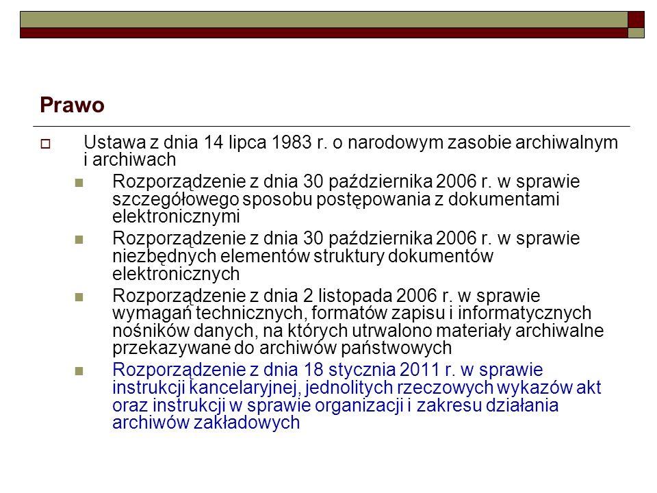Prawo Ustawa z dnia 25 marca 2011 r.