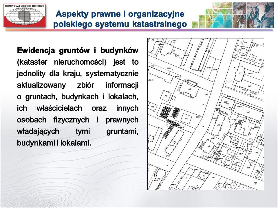 dostosowanie przepisów rozporządzenia do zgodności z przepisami znowelizowanego Prawa geodezyjnego i kartograficznego oraz innych aktów prawnych; harmonizacja zbiorów danych EGiB z innymi zbiorami danych, w szczególności z bazą danych GESUT, BDOT500, BDOT10k, PRG, oraz opracowanie, zgodnie z metodyką określoną w normach ISO, modeli pojęciowych danych EGiB oraz RCiWN; doprecyzowanie niektórych przepisów rozporządzenia oraz wyeliminowanie ujawnionych w tym akcie prawnym niespójności i niejednoznaczności; rozszerzenie zakresu zestawień zbiorczych danych objętych ewidencją o dane dotyczące klas bonitacyjnych gruntów; ustalenie GML podstawowym formatem wymiany danych EGiB oraz RCiWN.