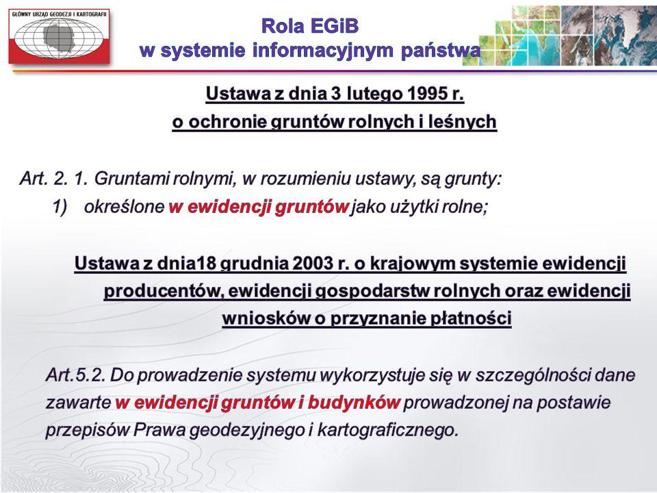 Zrealizowane i przetestowane warianty potwierdzają możliwość dostosowania systemów teleinformatycznych wykorzystywanych do prowadzenia egib do wymagań ZSIN.