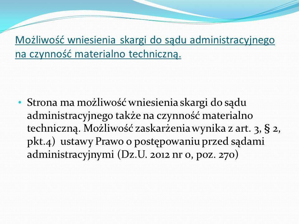 USTAWA z dnia 30 sierpnia 2002 r.Prawo o postępowaniu przed sądami administracyjnymi (Dz.U.