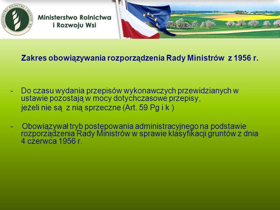 -Do czasu wydania przepisów wykonawczych przewidzianych w ustawie pozostają w mocy dotychczasowe przepisy, jeżeli nie są z nią sprzeczne (Art. 59 Pg i