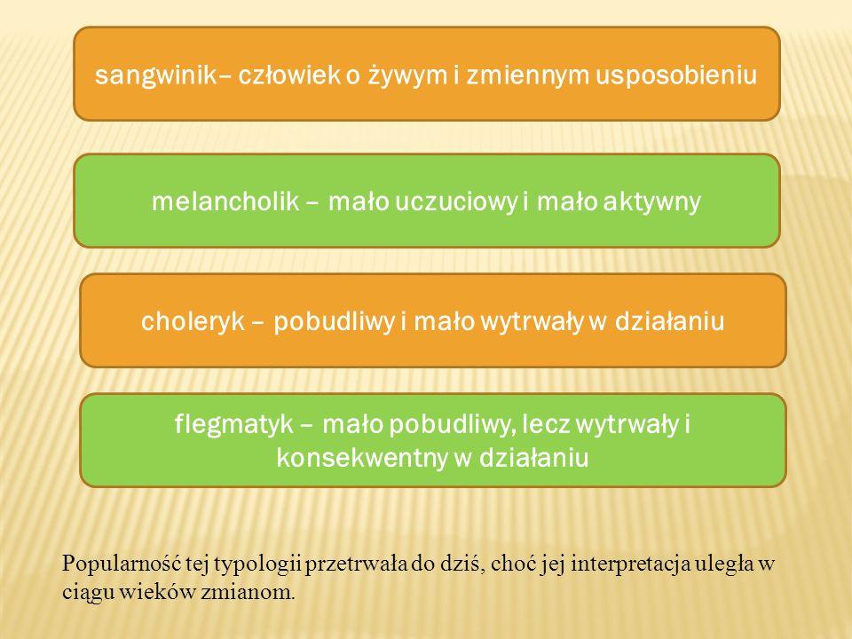 Podsumowując, Pawłow uważa, że typ układu nerwowego jest fizjologicznym podłożem temperamentu, a jednocześnie stwierdza, że typ układu nerwowego jest wrodzony i mało podatny na działanie środowiska.